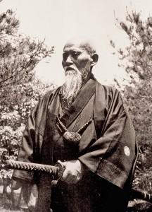 O Sensei Morihei Usheiba-katana