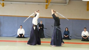 Photo Anaël Jaff stage iaido aijutsu 2011